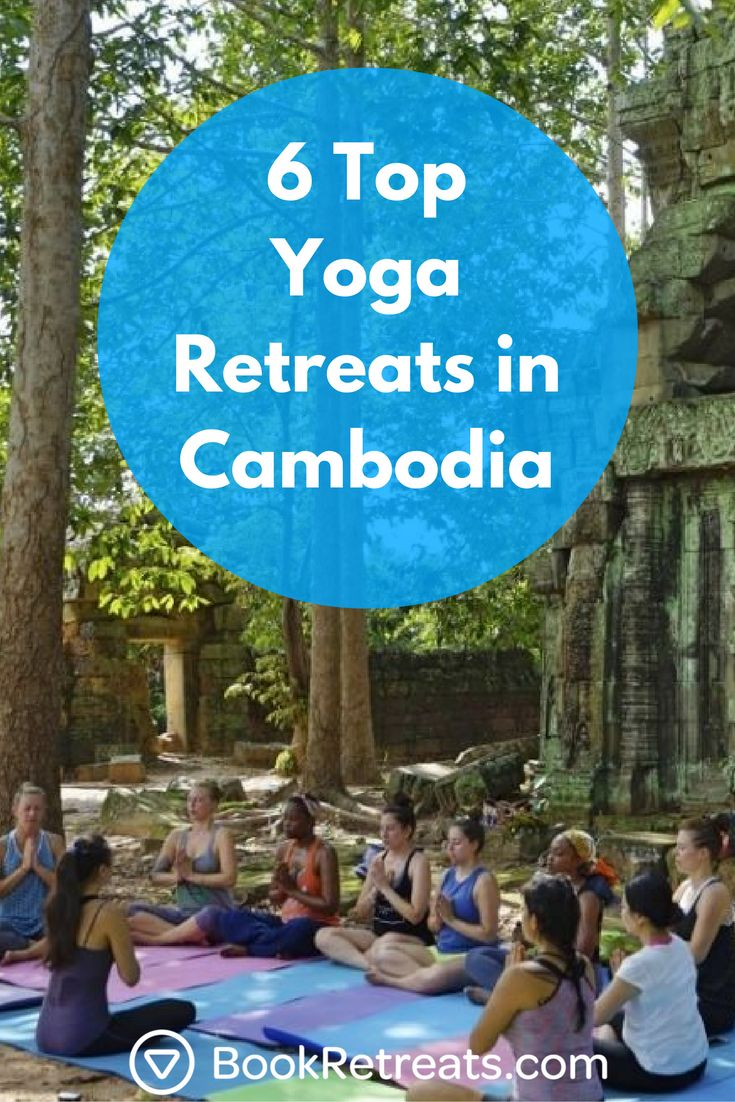 Visit the beautiful country of Cambodia, where their culture is rich with tradition. Take a peek at these affordable yoga retreats in Cambodia so that you can start planning your next holiday.  #yogaretreat #holiday #travel #yoga #cambodia