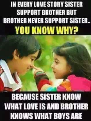 Pin By Asfia On Brother Sister Quotes With Images Relationship