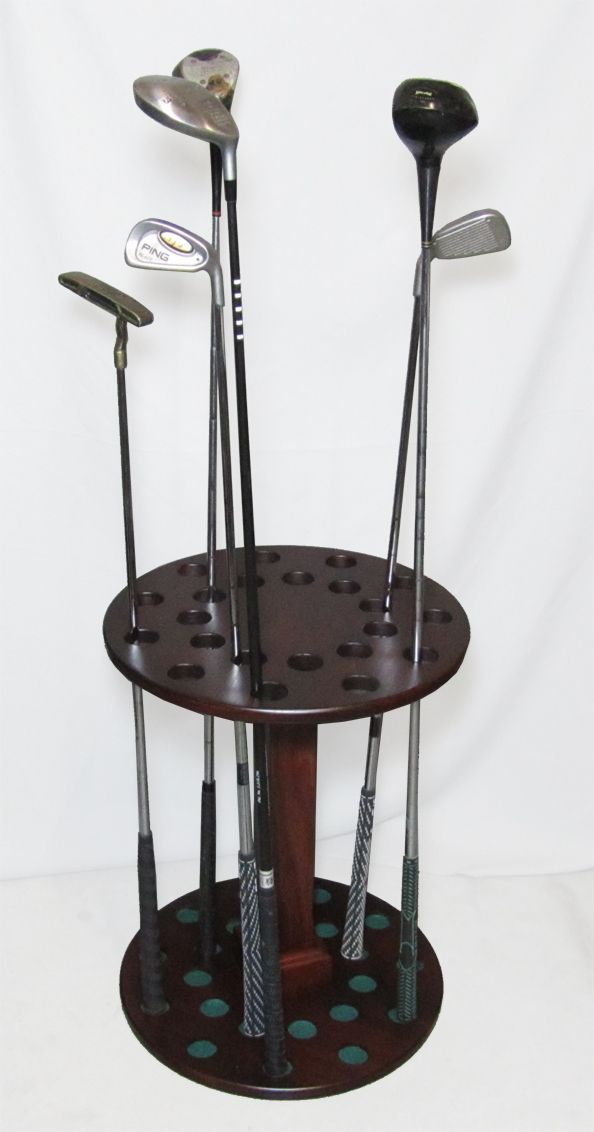 golf club rack! #golf #lorisgolfshoppe