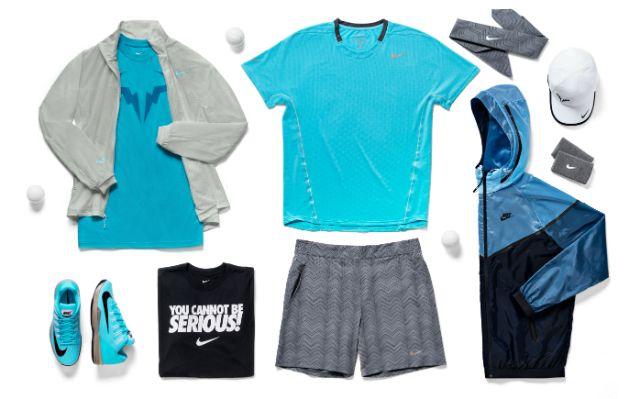 Rafael Nadal Roland Garros outfit