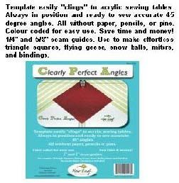 CLEARLY PERFECT ANGLES SEWING TOOL