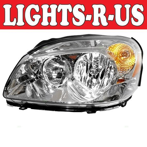 Lights R Us Buick Lucerne Headlight Without Cx Lh Left Driver 2006 2007 2008 2009 2010 2011 06 07 08 09 10 11 Buick Lucerne Lights Buick