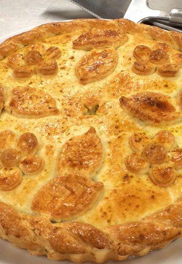 Torta de frango simples -