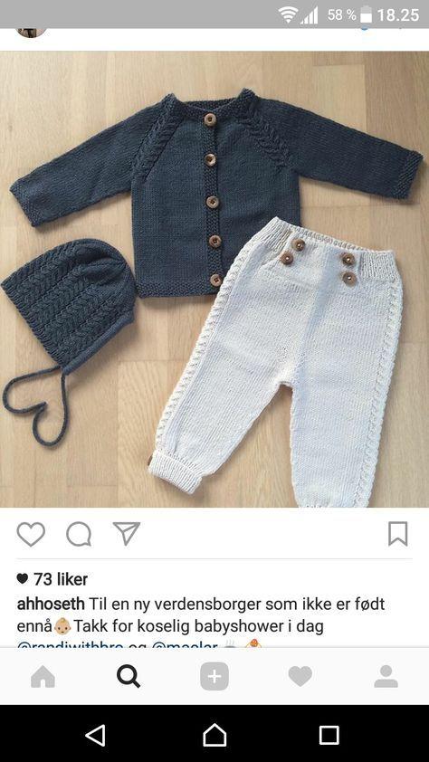 Чудесные штаны для малыша, свя | Cómo tejer | Ganchillo bebe ...