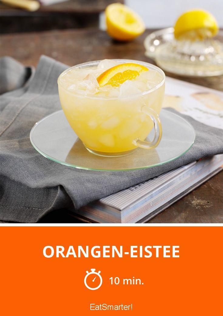 Orangen-Eistee