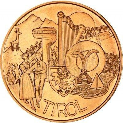 10 Euro Münze Tirol