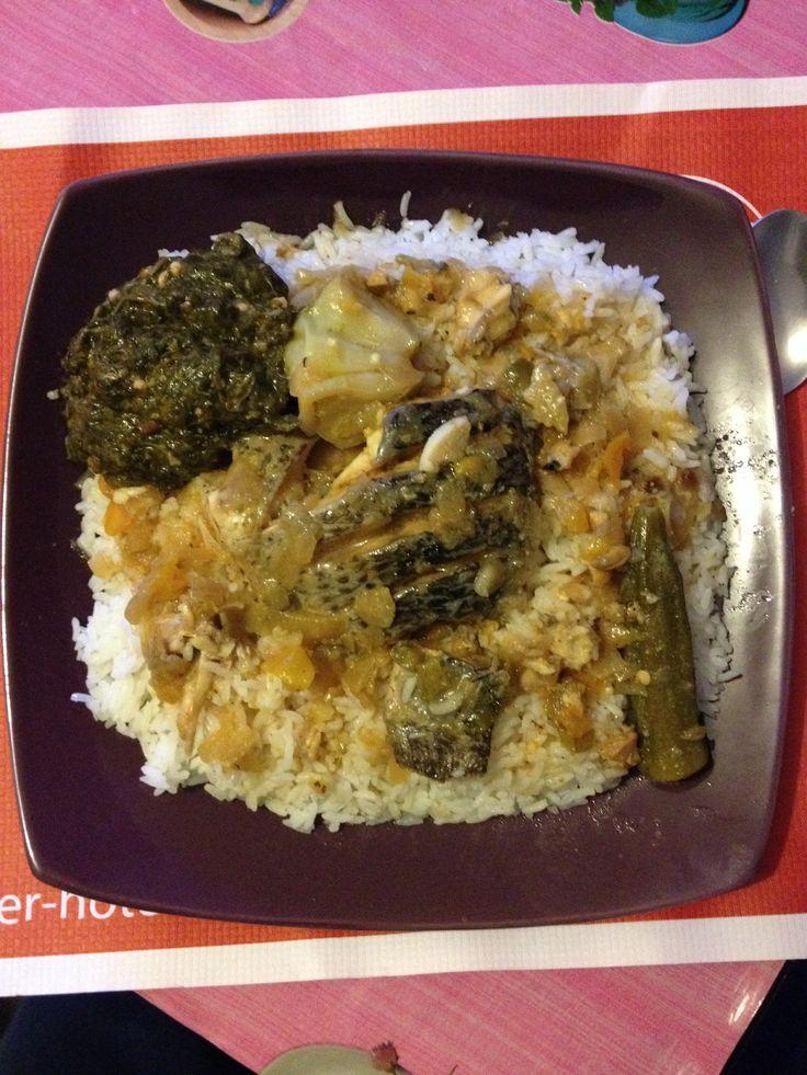 Le CALDOU plat sénégalais de l'ethnie Manjack  :)