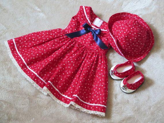American Girl Doll vêtements  18 pouces par RainbowLilyDesigns