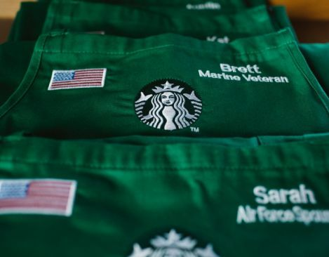 Starbucks today announced a significant milestone toward hiring veterans and military spouses, and outlined new investments to further bridge the gap between the military and civilians.