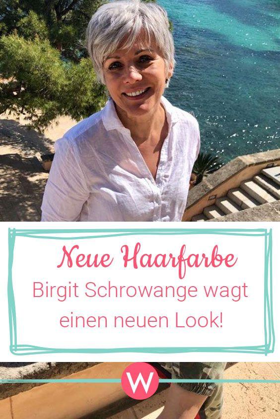 Birgit Schrowange Nach Den Grauen Haaren Wieder Ein Neuer Look