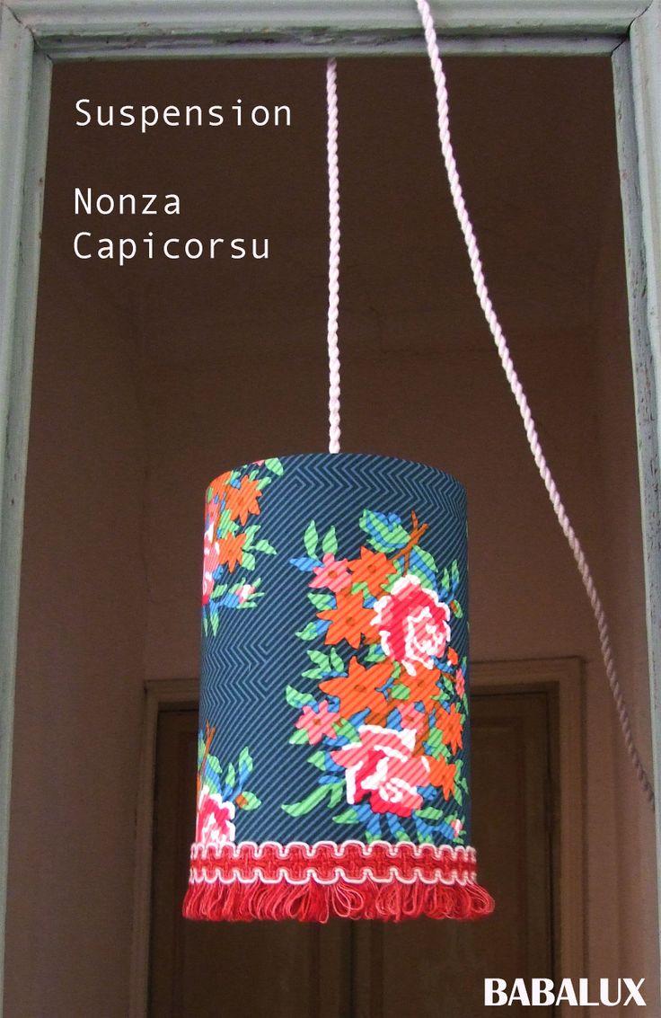Suspension modèle Nonza Capicorsu - www.babalux.fr