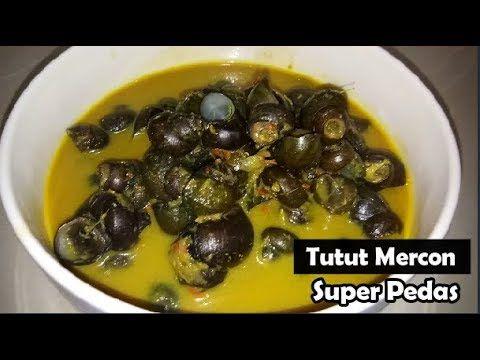 Cara Memasak Tutut Merrcon Super Pedas Resep Dari Kampung Youtube Makanan Cara Memasak Resep