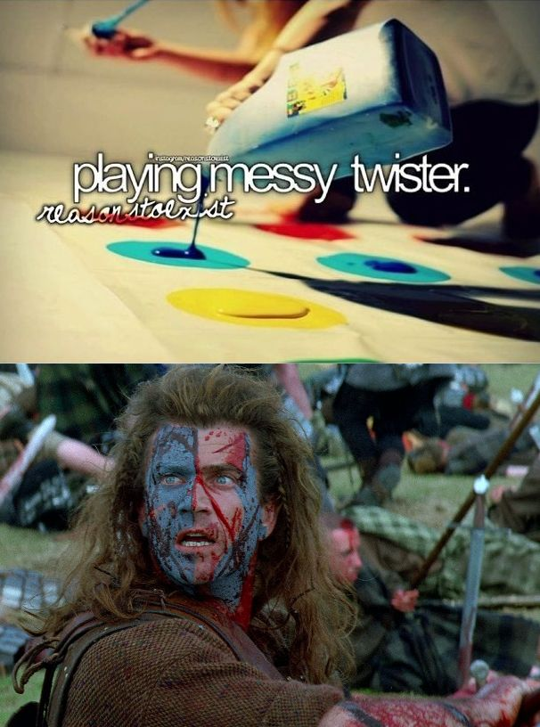 Braveheart Messy Twister...