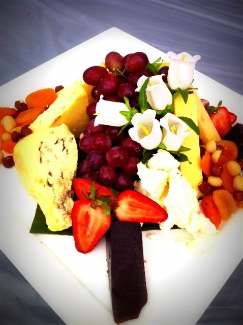 Crave Catering fruit and Cheese platter!