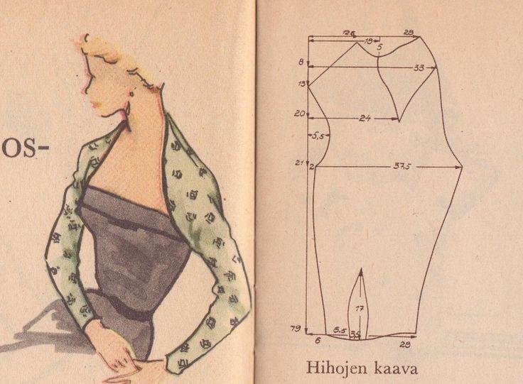 Free Vintage Bolero Sewing Pattern