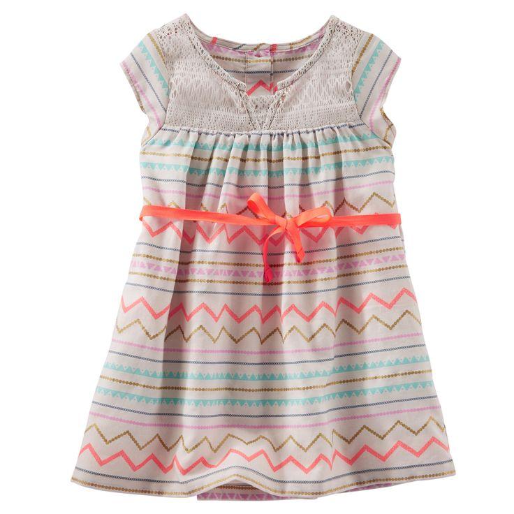 Baby Girl 2-Piece Printed Dress | OshKosh.com