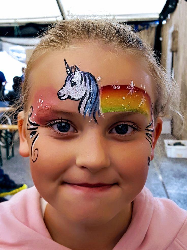 Facepainting unicorn  by kerstin