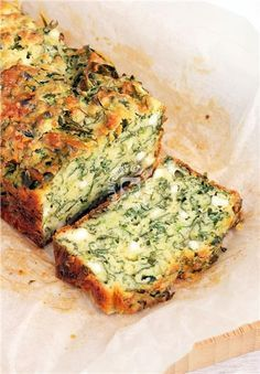 Εύκολο κέικ σπανάκι σε 5 λεπτά!