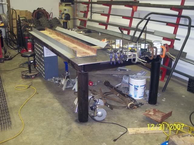27 best images about welding table on pinterest miller for Plan fabrication table