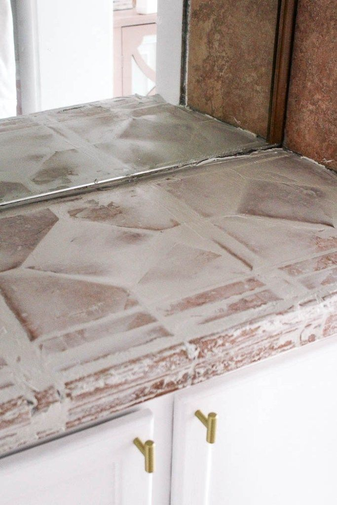 Diy White Concrete Countertops Diy Concrete Countertops