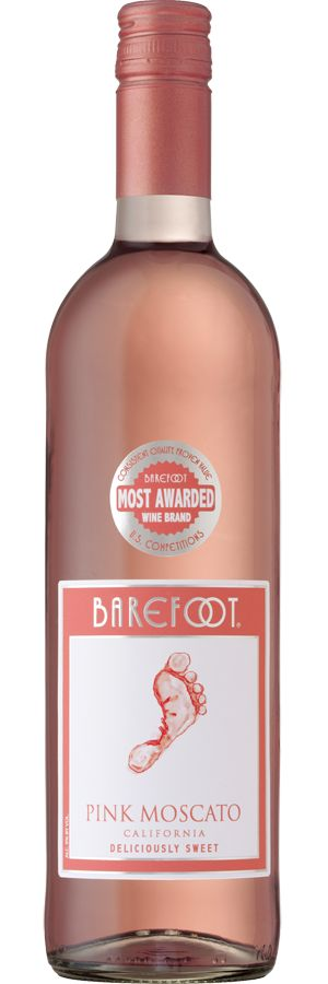 Normally a vodka girl...not a fan of wine but this is pretty good! Barefoot Pink Moscato. Ahmazingly yummy!!