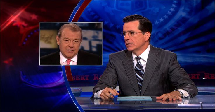 5 x Five - Colbert Report on Lamestream Media - Fox News Channel | Stephen suggests a new tagline for the Fox News Channel, steals Bill O'Reilly's microwave and promotes job openings at the cable news network.
