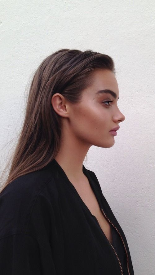 Contouring involves using a shade darker than your skin tone to sculpt areas and give the impression of definition. You can use it for just about anything to create cheekbones, collar bones – even to