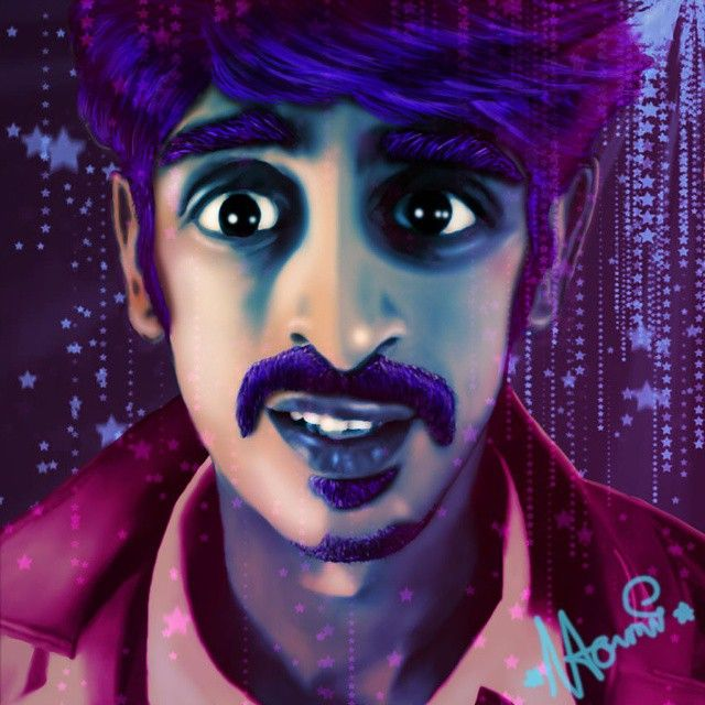 Portret for @sinakhaniofficial , wonderful musician/comedian/perfomer/artist. Go check him out at his instagram or at sinakhani.com. Btw, Sina; you still owe me a home cooked Iranian meal:p