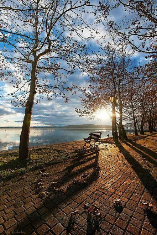 Kastoria lake, Macedonia Hellas