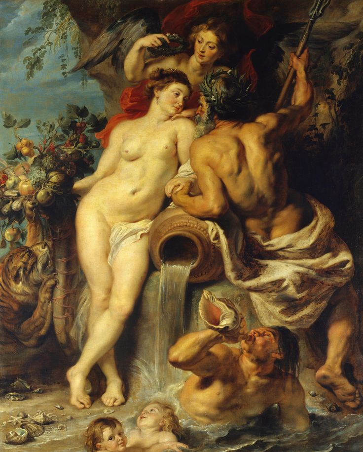 Pieter Paul Rubens   Union of Earth and Water   Oil on canvas   Circa 1618 ☆ Питер Пауль Рубенс   Союз Земли и Воды   Холст, масло   Около 1618 г.; Hermitage, St Petersburg
