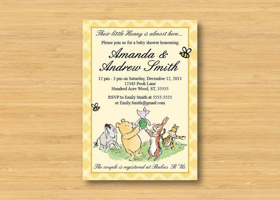 126 best winnie the pooh baby shower images on pinterest
