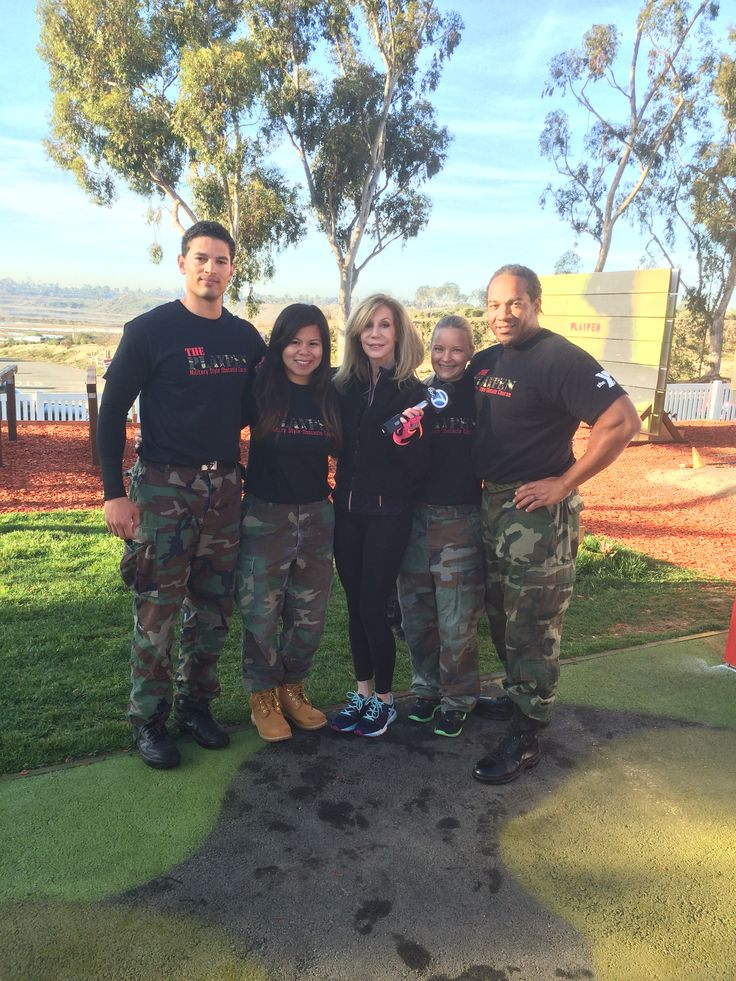 Grand opening of NM Performance military-style obstacle course at the Newport-Mesa YMCA in Newport Beach, California!