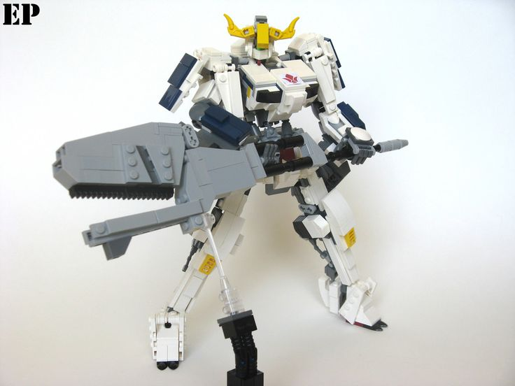 """""""Gundam Barbatos 6th Form"""" by ExclusivelyPlastic: Pimped from Flickr"""