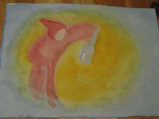 martinmas paintings and drawings http://teachinghandwork.blogspot.com/2008/11/lantern-walk-waldorf-art.html