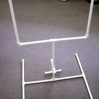 Miniature Football Goal Post from PVC