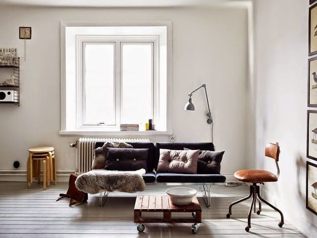 A Gothenburg home in monochrome and copper