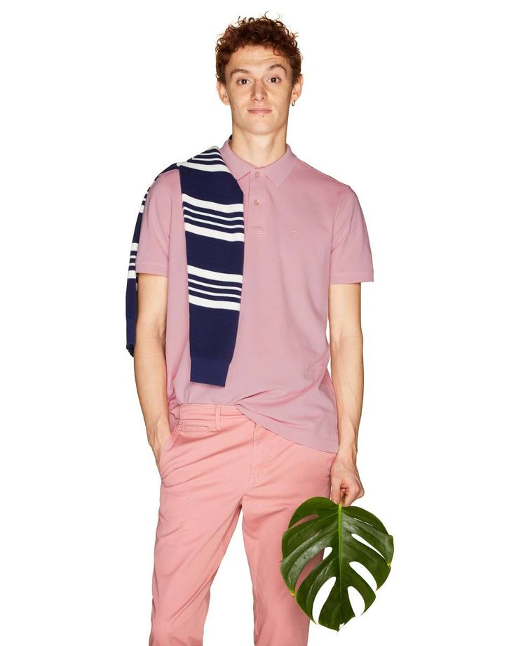 100% #cotton #polo from #Benetton #SS18 #man collection