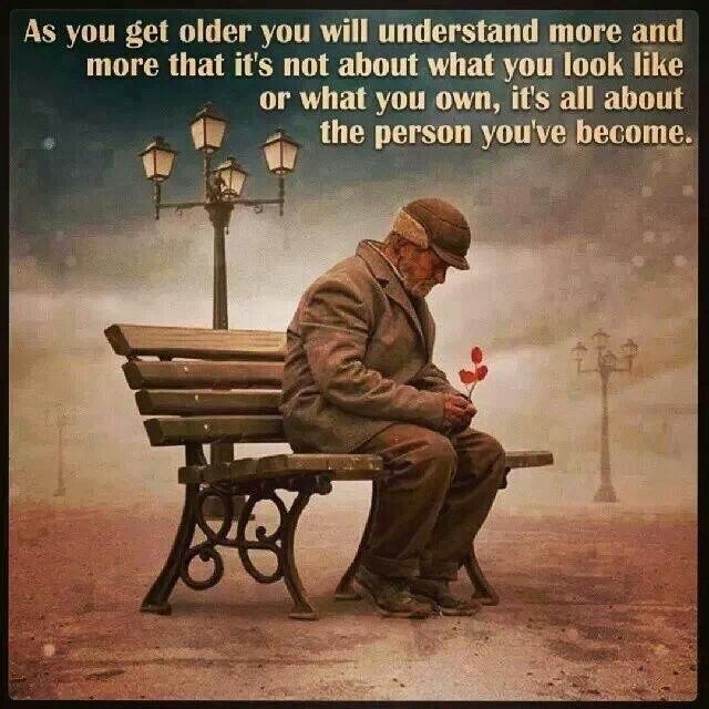 The Older I Get The Better I Was Quote: Getting Older Inspirational Quotes. QuotesGram