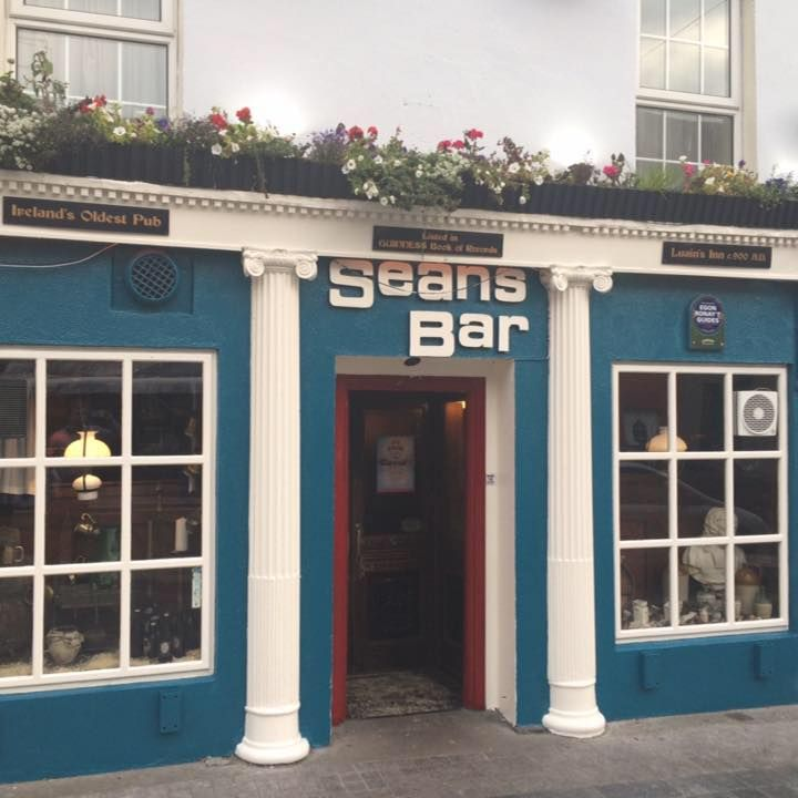 Welcome to Sean's Bar in the heart of Ireland. It's their oldest pub, over 1000 years old. Listed as starting (in some form) around 900 AD! Located in Athlone, Co. Westmeath, Ireland.