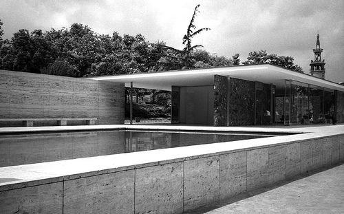 Pavillon de l'Allemagne, exposition de Barcelone (1928-1929)