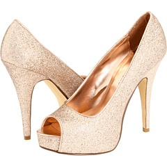"Blush Glitter ""Hot Hot"" pumps by Chinese Laundry $68.95"