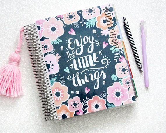 Erin Condren Planner Cover Bloom Collection by HelloPetitePaper