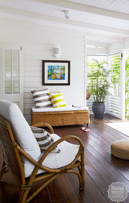 Vintage Home and Breezy Veranda.love everything about this Bungalow. Tropical Beachy Florida Tropical Bungalow.