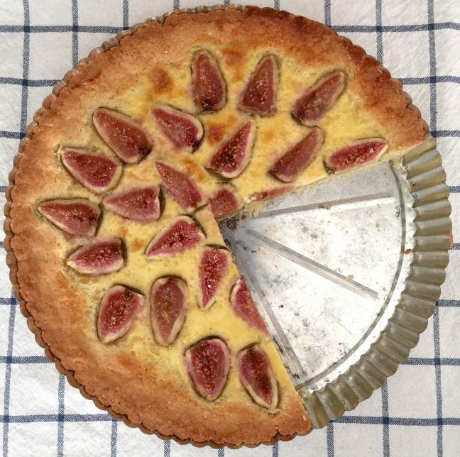 Fíkový koláč • Fig cake