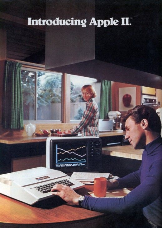 70s Apple ad.