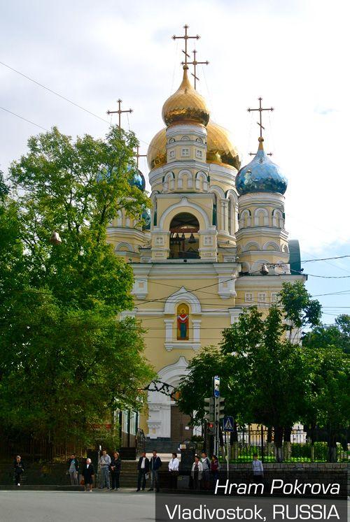 観光客に人気のロシアの教会。こじんまりとしていて可愛らしい。ウラジオストク 旅行・観光のおすすめスポット!