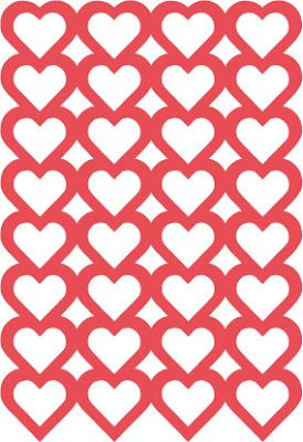 purse party Free heart background cutting file  by Michelle  Silhouette  CutFile