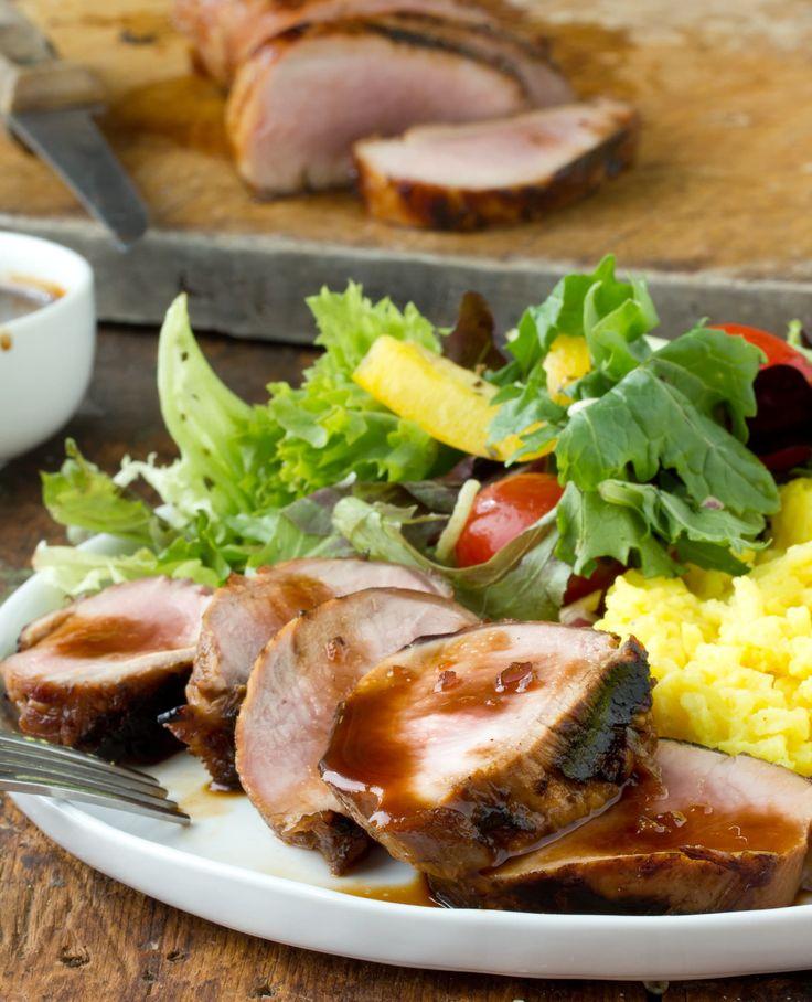 Grilling Recipe: Teriyaki Pork Tenderloin