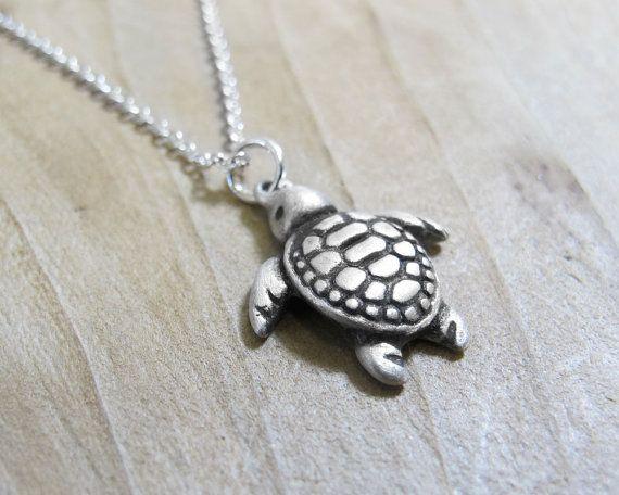 Little sea turtle necklace