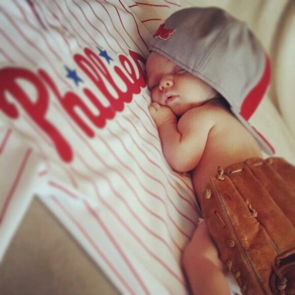 MLB inspired photo, this is absolutely adorable!! I would want it to be a different team though. :)